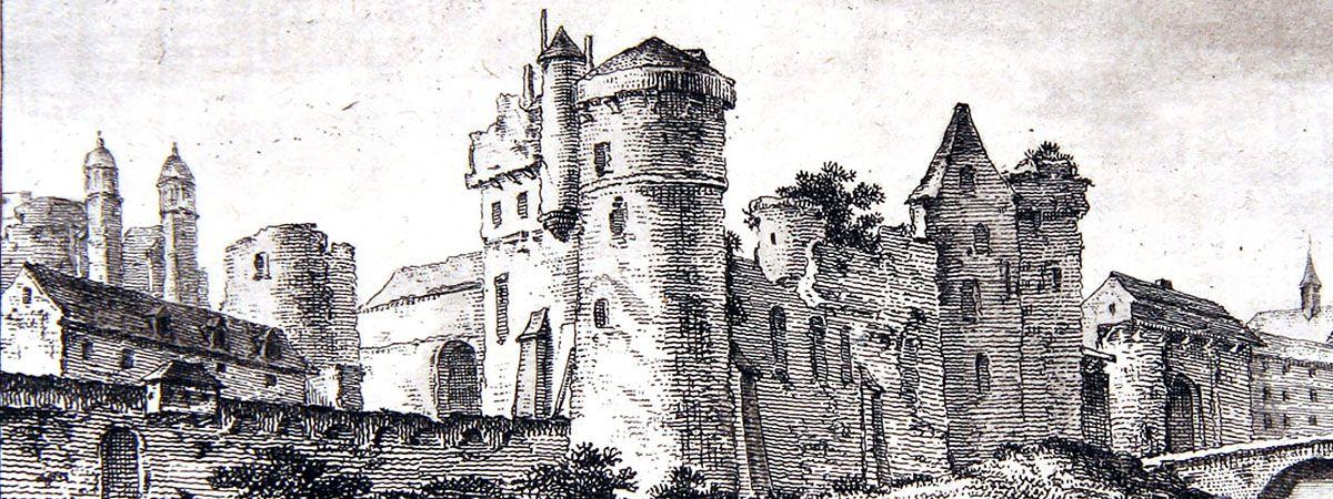 Château de Tours Fin XVIIème siècle