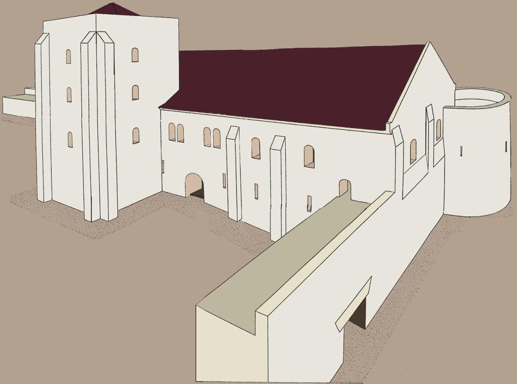 Reconstitution Château royal de Tours