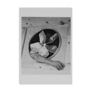 André Kertész - Bras et ventilateur - Carte postale