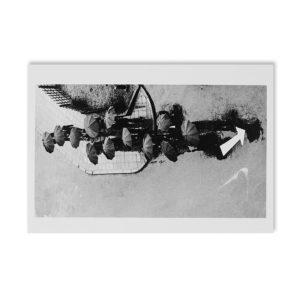 André Kertész - Jour pluvieux - Carte postale