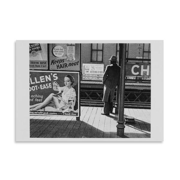 André Kertész - Poughkeepsie - Carte postale