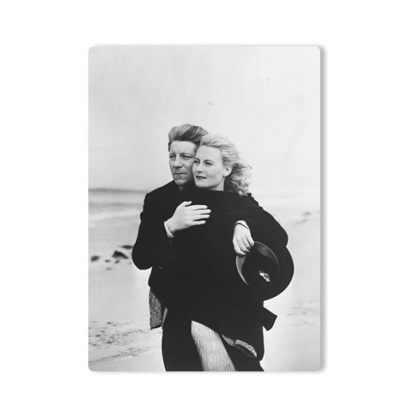 René-Jacques René-Jaques Michèle Morgan et Jean Gabin sur le tournage du film Remorques de Jean Grémillon, Brest, Finistère, 1939